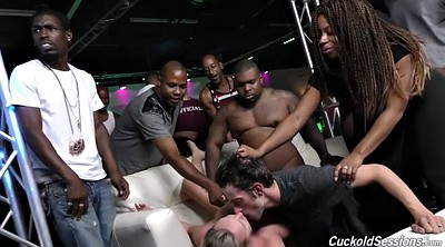 Club, Interracial chubby, Brooke wylde, Wife group, Gangbang wife
