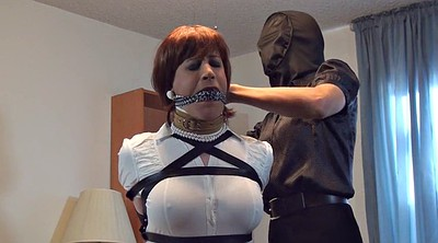 Crossdressers, Mask, Crossdresser bondage