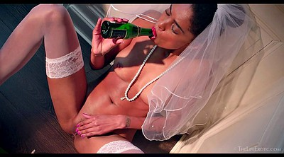 Big tits, Bride, Bottle