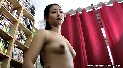 Blacked asian, Cock riding