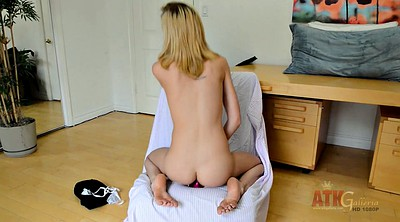 Blonde, Young anal, Slim anal, Anal toys solo