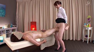Massage, Japanese massage, Bottomless, Subtitles