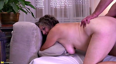 Young boy, Cummings, Hairy mature, Eat cum, Hairy granny
