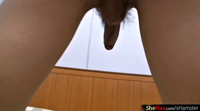 Satin, Shemale masturbation