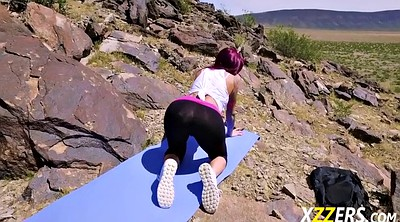 Ass fuck, Monique alexander, Monique, Milf yoga, Hill
