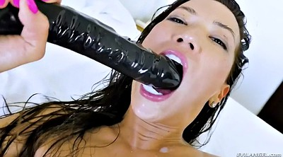 Fisting, Throat fuck, Close, Asian toy, Kalina ryu, Creampie asian