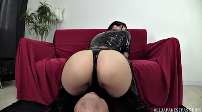 Japanese big ass, Shooting, Rimjob, Latex fetish, Japanese ass