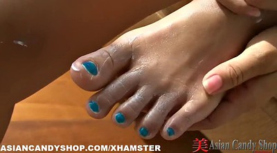 Asian solo, Thailand, Thai girl, Bar, Asian foot, Thai foot
