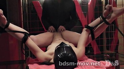Needle, Japanese bdsm, Labia, Asian bondage