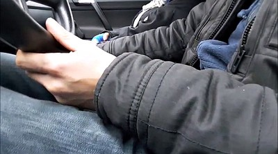 Car handjob, Public handjob, Flash public