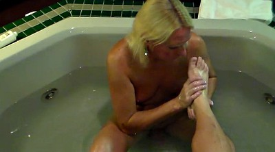 Foot job, Mature feet, Mistress foot, Feet mistress