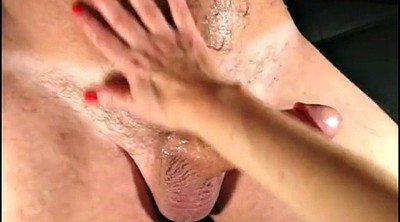 Handjob mature, French mature