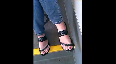 Candid, Toes, Sandal, Sandals