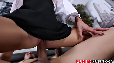 Secretary, Punished