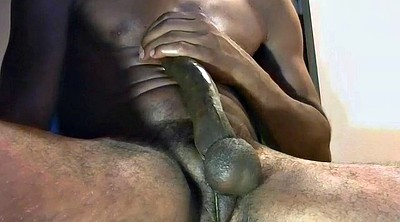 Black gay, Big cum