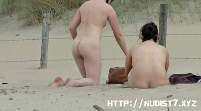 Nudist, Public beach