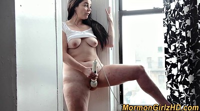 Standing, Window, Standing sex, Mature pussy, Drive