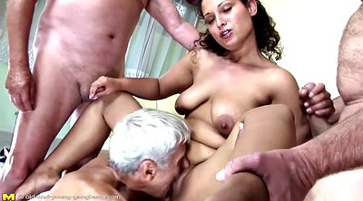 Granny peeing, Old gangbang, Young old, Pissing granny