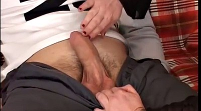 Stepson, Watch, Wife watching, Throat fuck