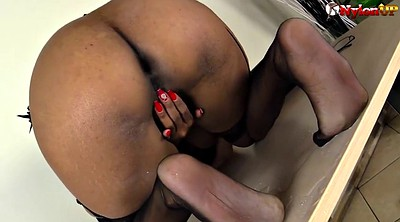Peeing, Stockings foot, Black stocking, Teacher foot, Stocking foot