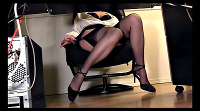 Secretary, Skirt, Desk