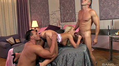 Double blowjob, Threesome anal