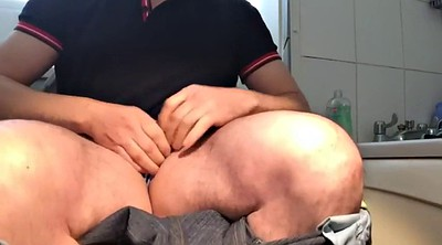 Toilet, Toilet masturbation, Masturbating, Jerk off, Gay webcam