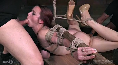 Gag, Tied up, Rope