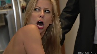 Alexis fawx, Blond, In front of, Front