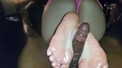 Foot, Pee, Vintage interracial