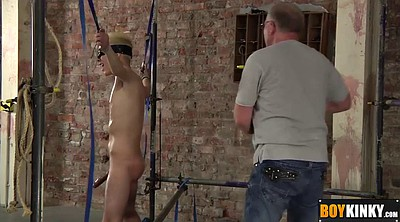Blindfolded, Blindfold, Gay tied