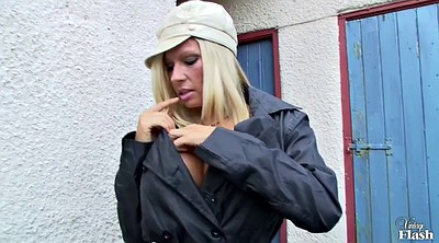 Michelle thorne, Michelle b, Flasher, Blonde black