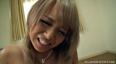 Natural, Asian blowjob, Hairy cowgirl