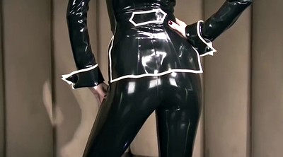 Suit, Lara, Latex femdom, Ebony latex, Lara latex, Latex bdsm