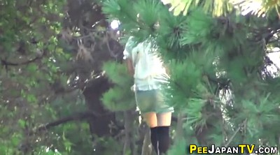Urine, Japanese outdoor, Public pee