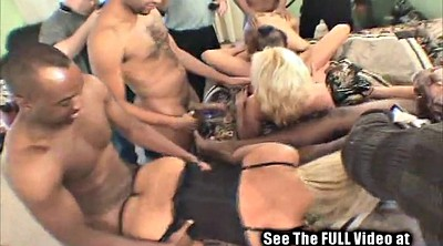 White blonde, Gangbang party