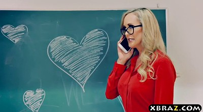 Young, Brandi love, Brandy love, Mature teacher