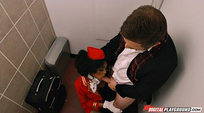 Toilet, Gloves, Glove, Gloved, Stewardess, The toilet