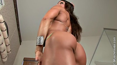 Muscle, Whore, Fitness, Big tits solo