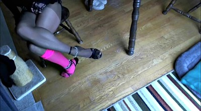 Crossdresser, Gay feet, Feet solo