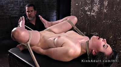 Caning, Hogtied, Caning pussy, Caned
