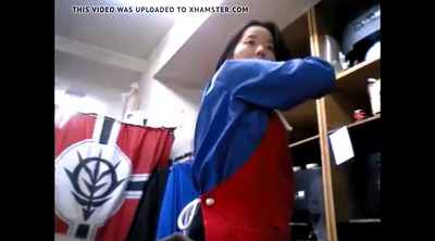 Changing, Women, Japanese gay, Clothed, Change, Japanese cam