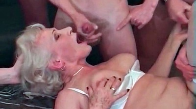 Wife interracial gangbang, Granny interracial, Gangbang granny