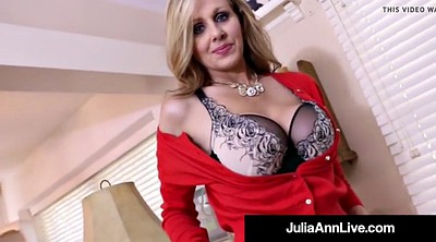 Mature, Julia ann, Anne, Mature dildo, Mature cougar, Hot milf big tits