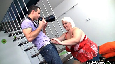 Photographer, Bbw spreading, Blonde bbw, Bbw spread
