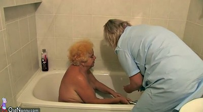 Granny, Hairy mature, Lesbian nurse, Hairy shower, Bbw hairy granny, Private