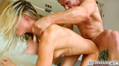 Anal, Anal deep, Double creampie
