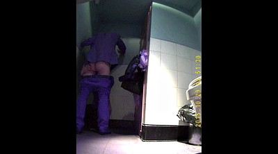 Toilet, Toilet voyeur, Hidden toilet, Hidden camera, Hidden couple