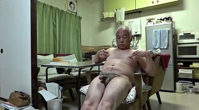 Old, Nipple, Japanese granny, Japanese old man, Japanese handjob, Japanese old