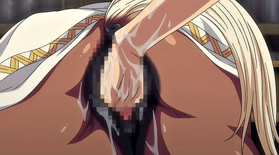 Anime, Interracial creampie